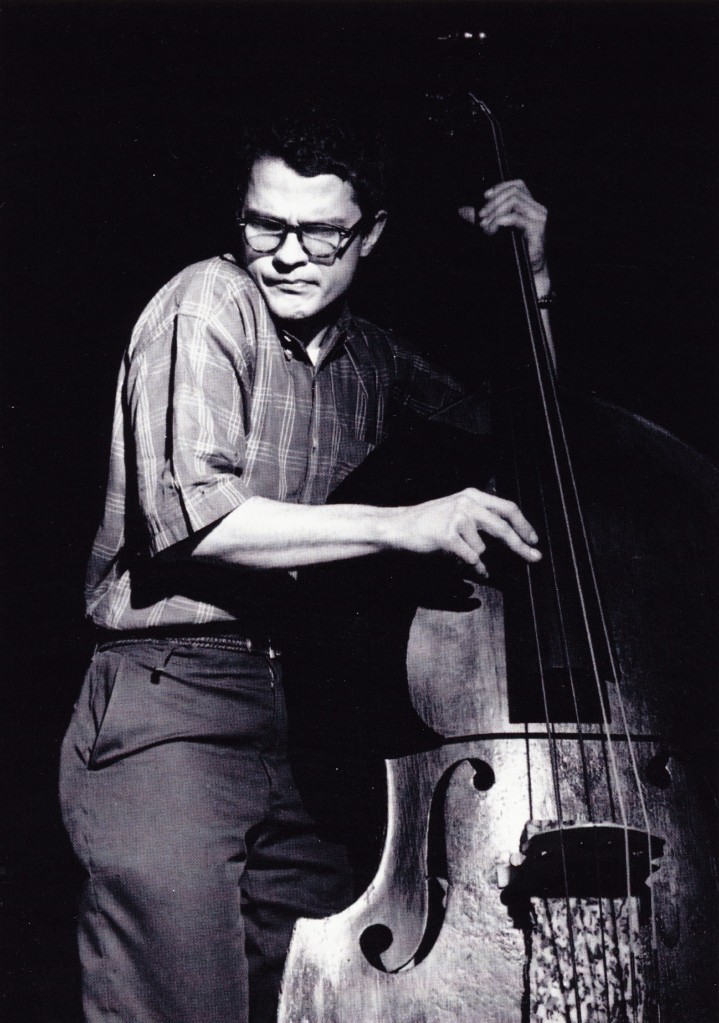 Charlie Haden by Francis Wolf.